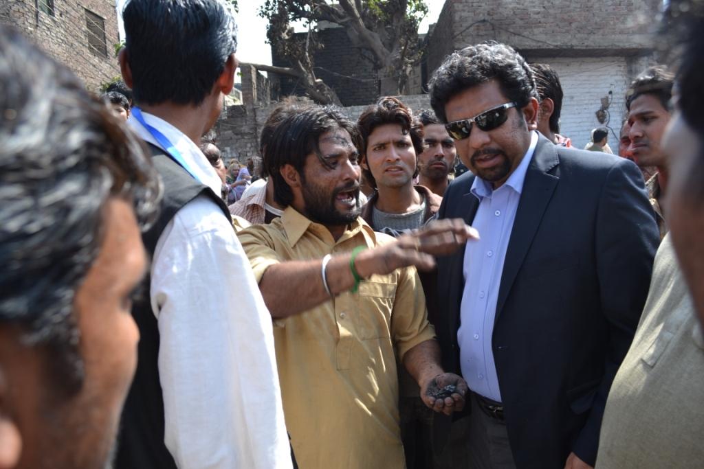 Visit of Badami Bagh Lahore