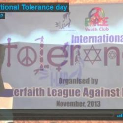 Celebration of International Tolerance day 2013