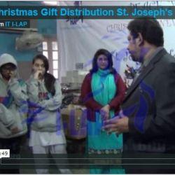 Christmas Gift Distribution St. Joseph's Hospice 2012