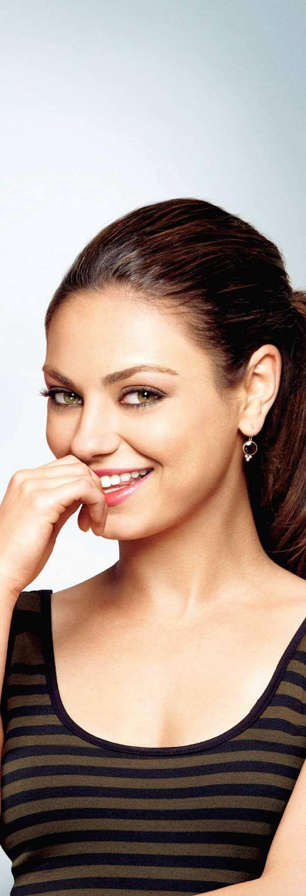 Mila Kunis Smiling Pretty