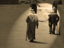 Old arab men