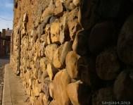 Wall made of stones, Carbajal de la Legua