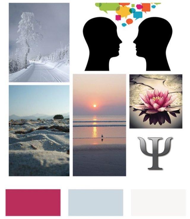 Moodboard per il logo di Giulia Casagrande