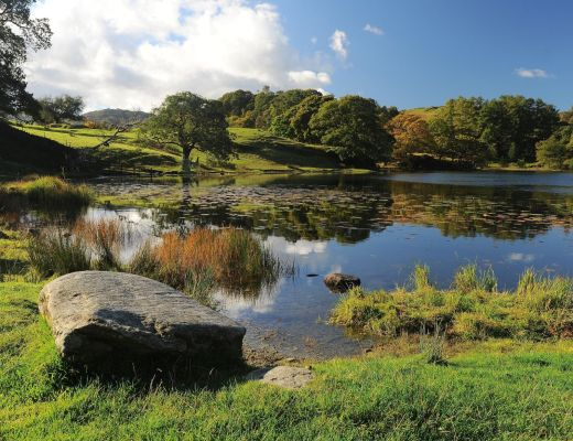 LOUGHRIGG-TARN-lago-Ambleside-prediletto-William Wordsworth