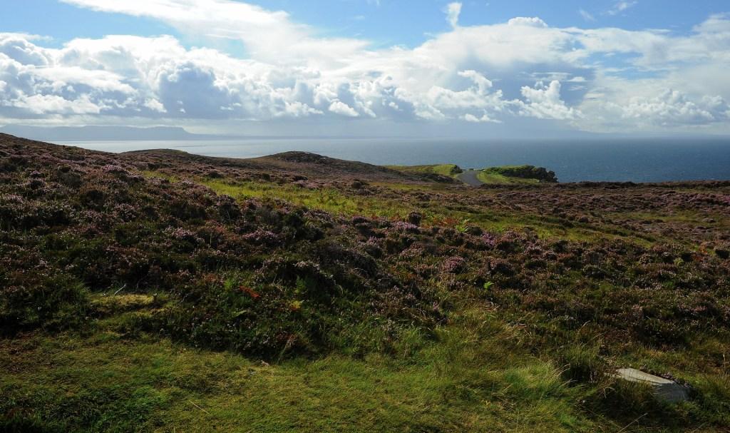 Vedute verso l'oceano dal punto panoramico sulle scogliere di SLIEVE LEAGUE