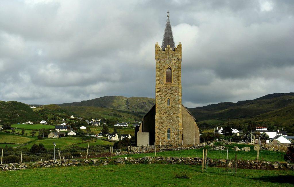 La chiesetta di GLENCOLMCILLE