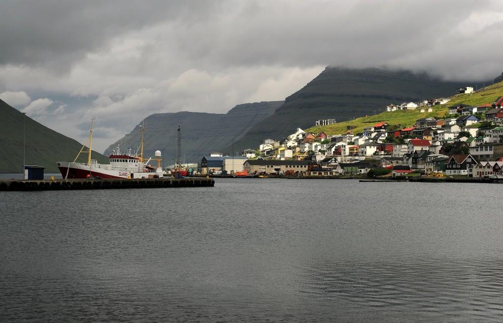 Il porto naturale di KLAKSVIK