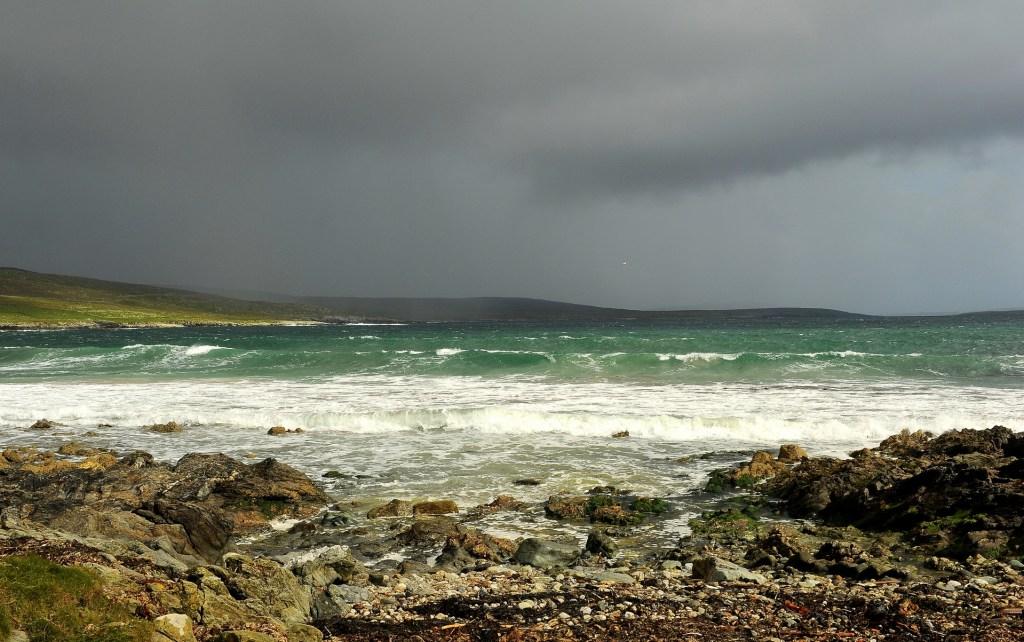 Tempesta atlantica in avvicinamento