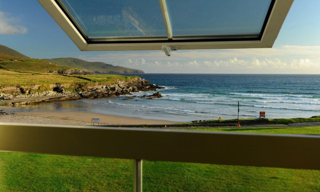 La ST FINAN'S BAY vista dalla finestra della nostra stanza
