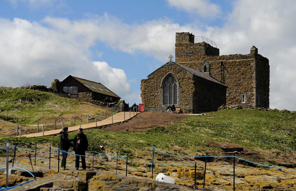La cappella di ST CUTHBERTH a INNER FARNE