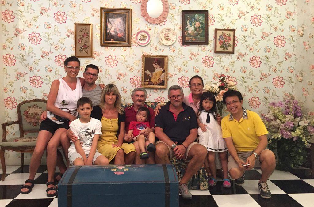 La mia famiglia (allargata) Thai