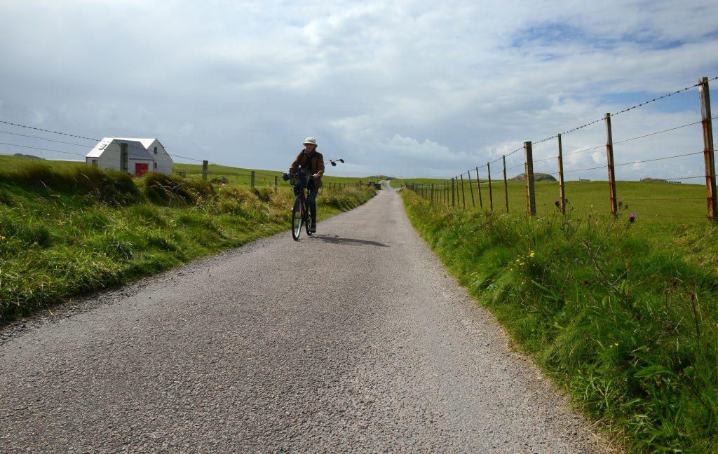Di ritorno dal GOLF in bicicletta