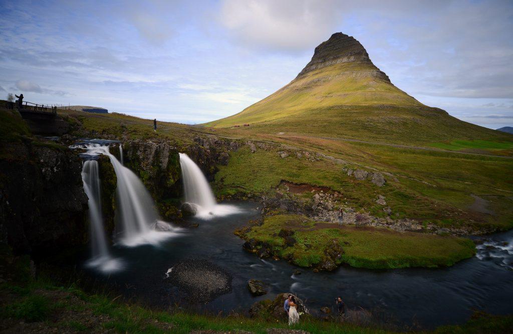 La più classica veduta da cartolina del monte KIRKJUFELL