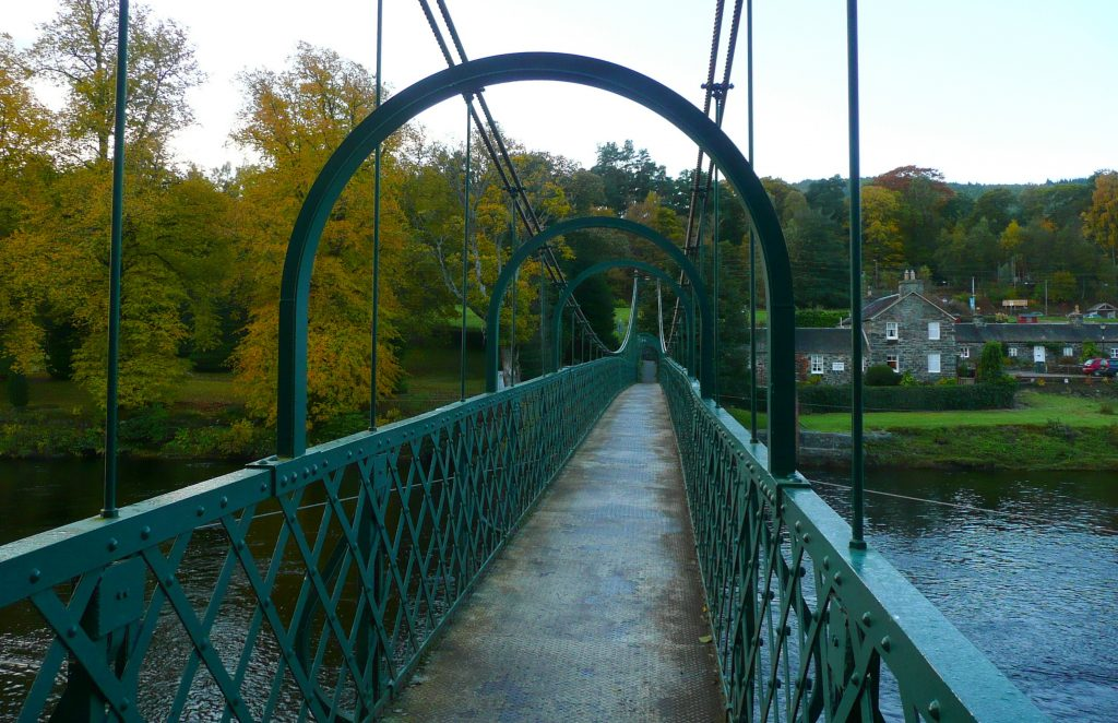 TUMMEL SUSPENSION BRIDGE