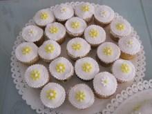 Cupcakes cresima margherite
