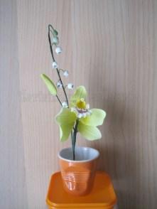 mughetto e orchidea