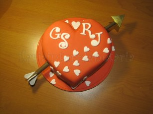 Torta cuore san valentino