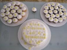 Torta e CupCakes Cresima Margherite