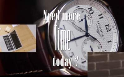 Need more time today?