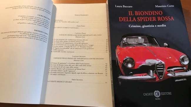 libro Il Biondino della Spider Rossa sul sequestro e omicidio di Milena Sutter