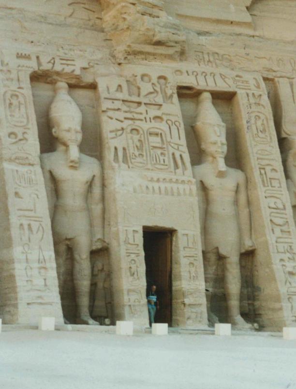 Nefertari Temple at Abu Simbel