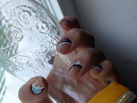 techno nails