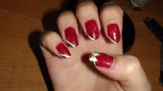 Ribbon nails