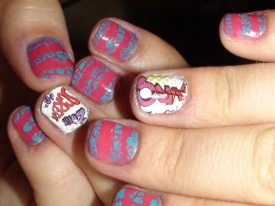 fumetto nails