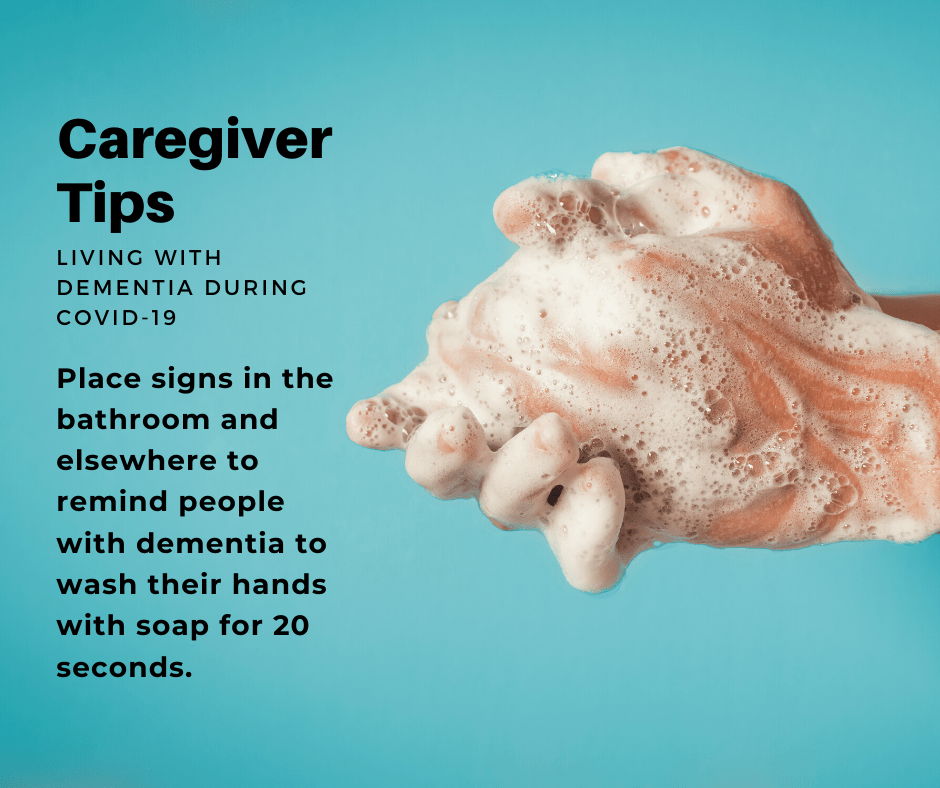 Caring for a person with dementia during the COVID-19 pandemic