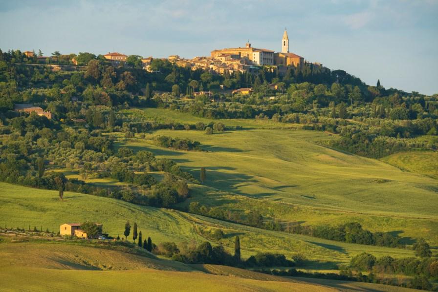 Europe, Italy, Tuscany, Toscana,town of Pienza