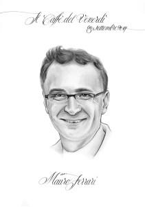 Mauro Ferrari caricatura
