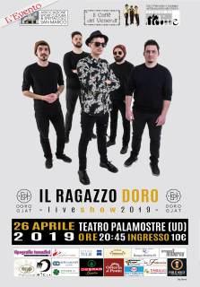 Locandina il ragazzo Doro 26/04/2019