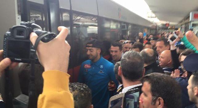[cn24]  Napoli In Partenza Verso Roma, Che Entusiasmo