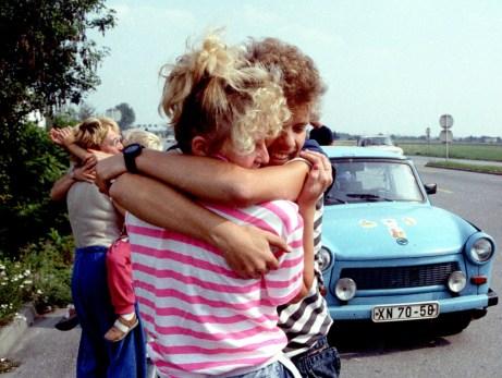 Ungarns Grenzöffnung: DDR-Übersiedler