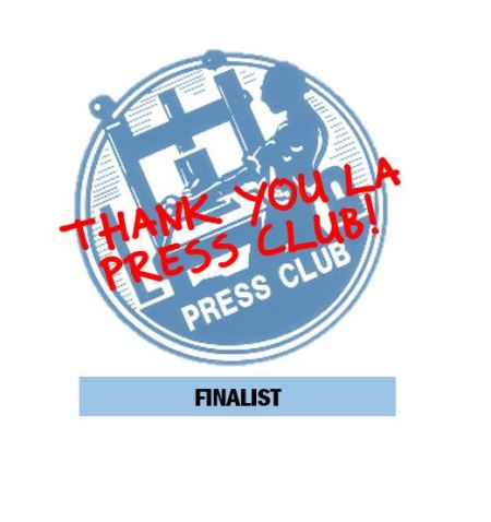 Cyber Report Honored by LA Press Club