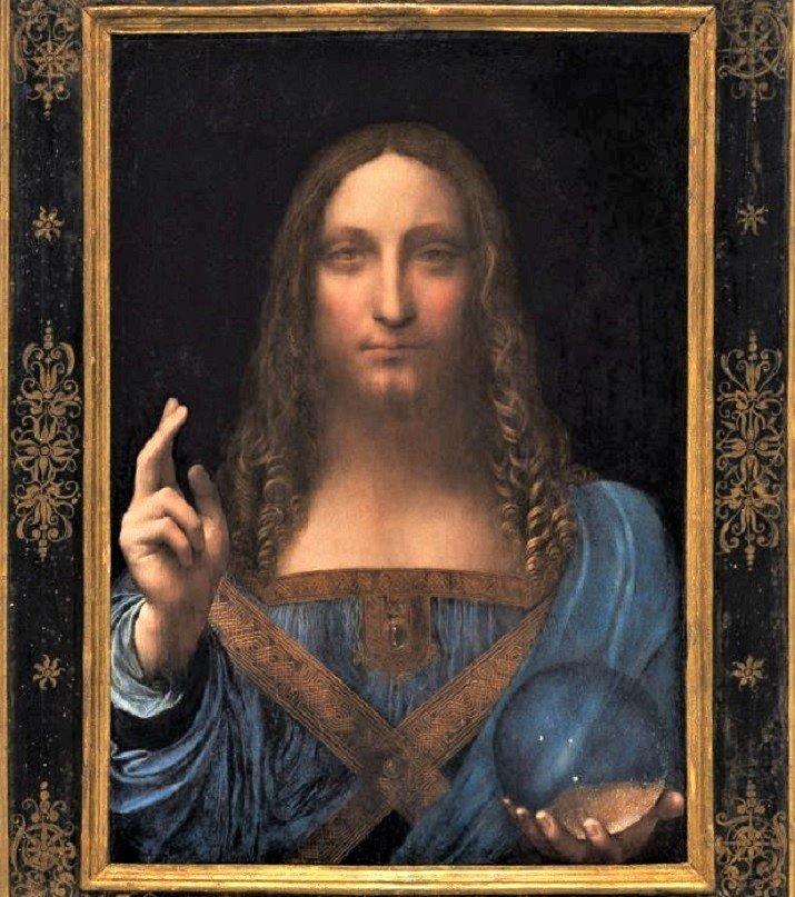 Salvator Mundi, dipinto di Leonardo da Vinci