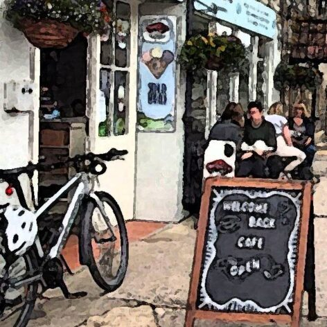 Claire's of Ilchester is a cosy cafe close to A303