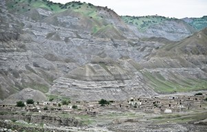 A village in the Kotcha River valley