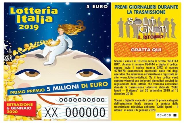 Lotteria Italia 2020
