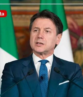 Diretta Giuseppe Conte
