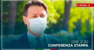Giuseppe Conte diretta conferenza stampa