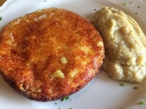 Frico con patate e Montasio
