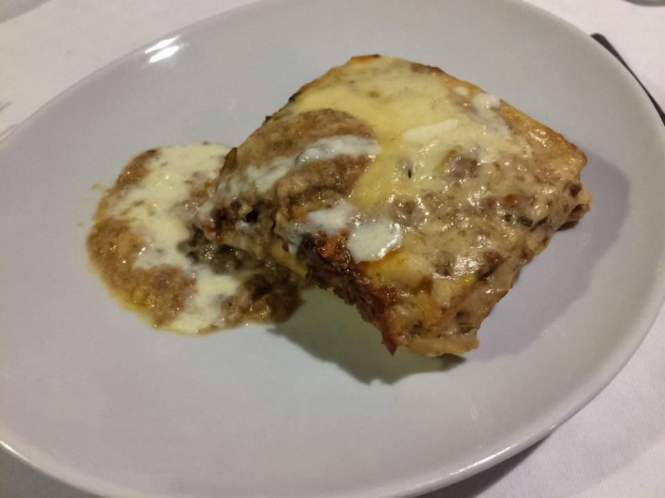 Lasagne al forno con ragù di cervo