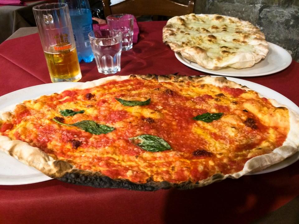 Pizza con n'duja Tutta n'ata storia