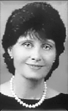 Black and white photo of Norma Jean Vescovo, a Founder of the ILCSC and Executive Director for over 40 years. Member of the ILCSC Board of Directors.