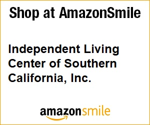 Amazon Smile Logo Box Image, black and gold. Gold outline, with black lettering.