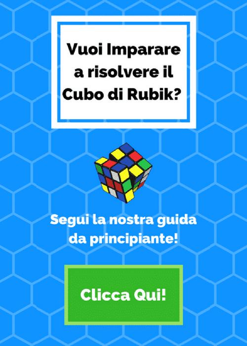 Scopri con la nostra guida come risolvere il cubo di rubik con il metodo a strati, clicca qui!