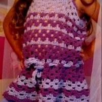 Maglia o copricostume bimba in crochet