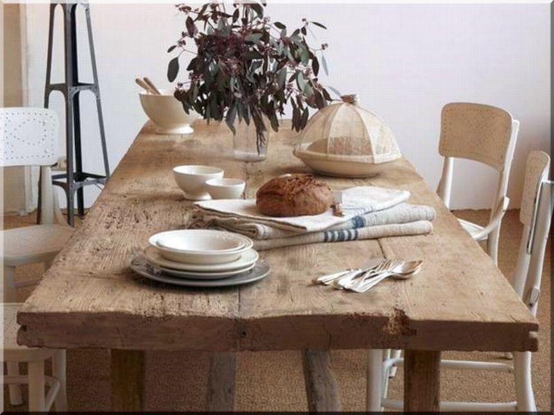 Tkez Asztal Industrial Loft Furniture Garden Borders Acacia Planks