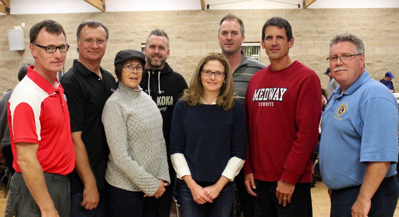 Ilderton Lions volunteer group photo